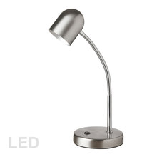 Dainolite 134LEDT-SC - 5W Table Lamp, Satin Chrome Finish
