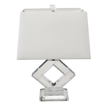 Dainolite C506T-PC - 1LT Table Lamp, Polished Chrome Finish