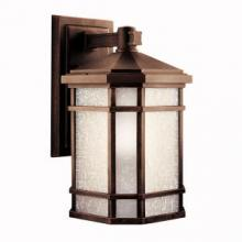 Kichler 11019PR - Outdoor Wall 1Lt Fluorescent