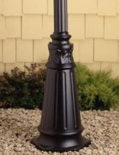 Kichler 9510BK - Outdoor Post