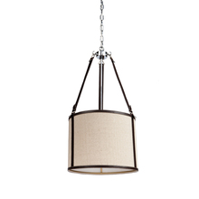 Steven & Chris SC873OM - Bay Street 3 Light Oatmeal Chandelier